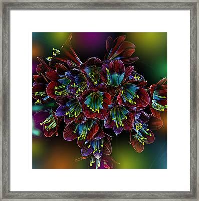 Assortment Of Splendor Framed Print by Bill Tiepelman