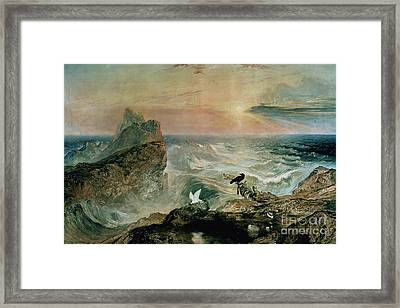 Assuaging Of The Waters Framed Print by John Martin