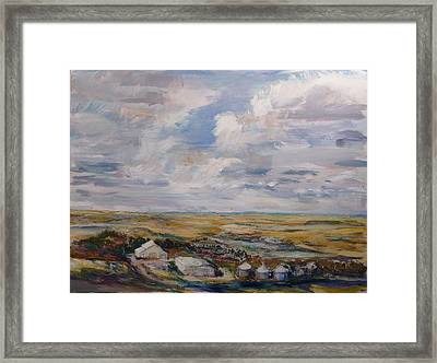 Abbey Farm Framed Print