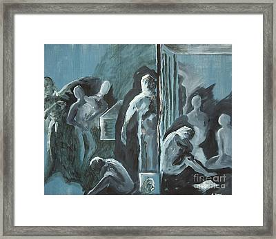Assylum Framed Print by Reb Frost