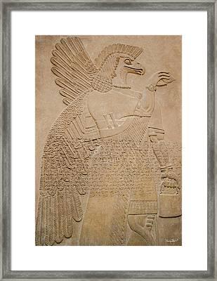 Assyrian Guardian Framed Print