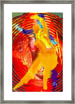 Astaire Way To Heaven Framed Print by Seth Weaver