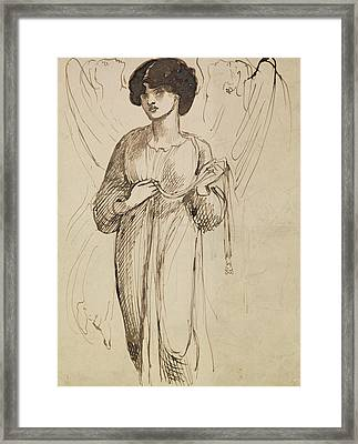 Astarte Syriaca  Framed Print by Dante Gabriel Rossetti