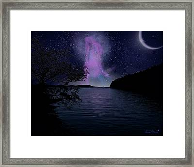 Asteria Framed Print by Torie Tiffany