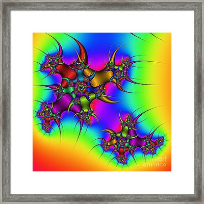 Asteroid 67 Framed Print by Rolf Bertram