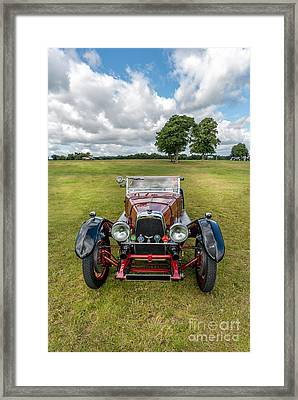 Aston Martin  Framed Print by Adrian Evans