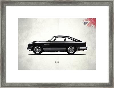 Aston Martin Db4 Framed Print by Mark Rogan