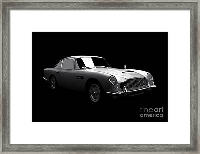 Aston Martin Db5 Framed Print