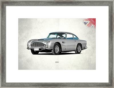 Aston Martin Db5 Framed Print by Mark Rogan