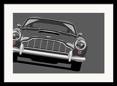 Aston Martin Framed Prints