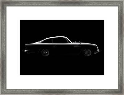 Aston Martin Db5 - Side View Framed Print