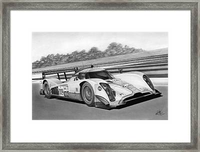 Aston Martin Lmp1 Framed Print by Lyle Brown