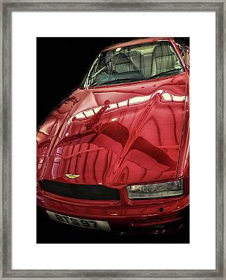 Aston Martin Framed Print by Martin Newman
