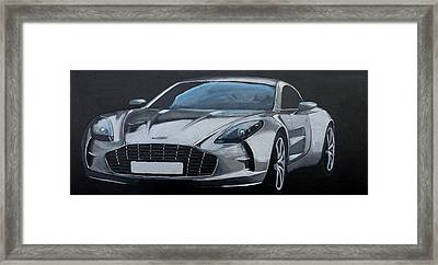 Aston Martin One-77 Framed Print