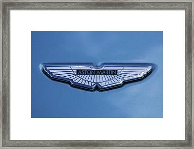 Aston Martin Framed Print by Scott Carruthers