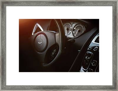 Aston Martin Vantage Framed Print