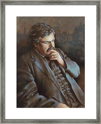 Astonished At The World Framed Print by Timothy Jones