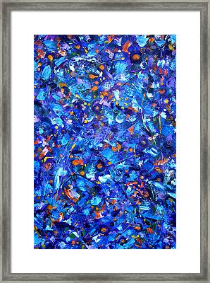 Framed Print featuring the painting Astral Projection by Lynda Lehmann