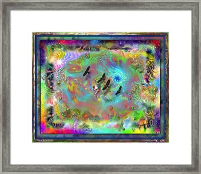 Astral Vision Framed Print