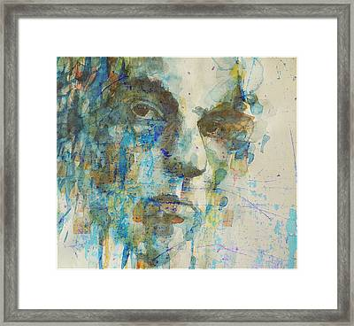Framed Print featuring the mixed media Astral Weeks by Paul Lovering