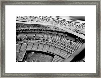 Framed Print featuring the photograph Astrodome 10 by Benjamin Yeager