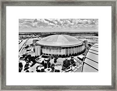 Astrodome 5 Framed Print