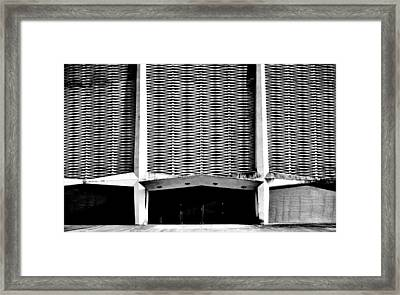 Framed Print featuring the photograph Astrodome 6 by Benjamin Yeager