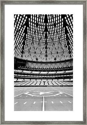 Framed Print featuring the photograph Astrodome 7 by Benjamin Yeager