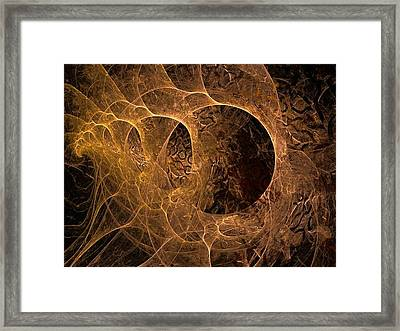 Astroid Flying At The Speed Of Light Framed Print