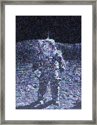 Astronaut Glory II Framed Print by Jim  Plaxco