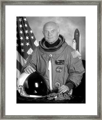 Astronaut John Glenn Framed Print