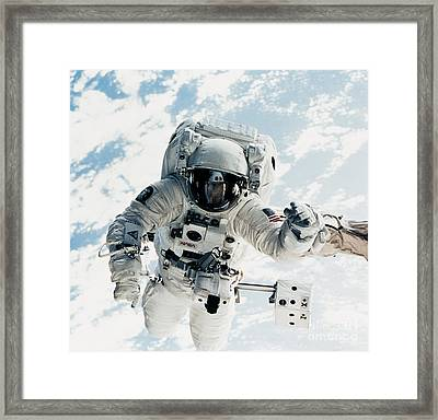 Astronaut Framed Print by Nasa