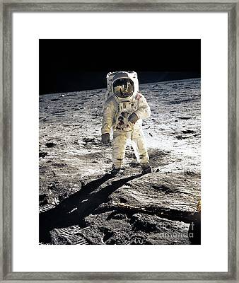 Astronaut Framed Print by Photo Researchers