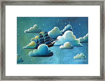 Astronautical Navigation Framed Print by Cindy Thornton