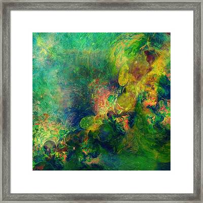 Astronomical Beauty Abstract Framed Print