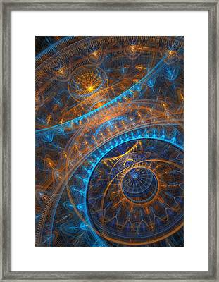 Astronomical Clock Framed Print by Martin Capek