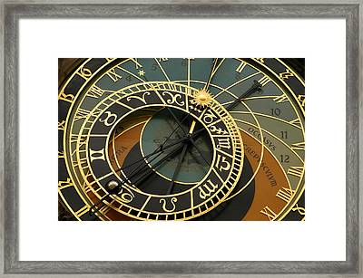 Astronomical Clock- Prague Framed Print by Kobby Dagan
