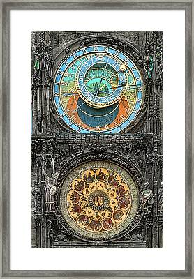 Astronomical Hours Framed Print