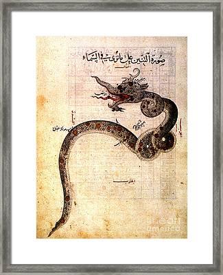 Astronomy: Arabic Ms Framed Print by Granger