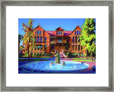 Asu Old Man Framed Print