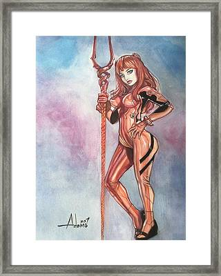 Asuka Langley Framed Print