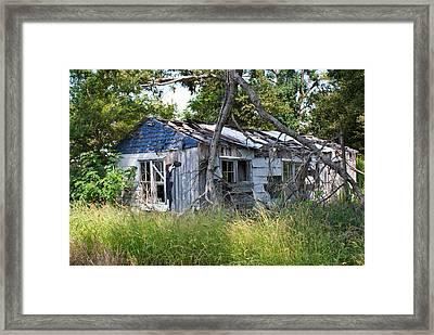 Asure Shack Framed Print by Douglas Barnett