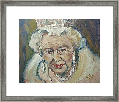 At Age Still Reigning Framed Print