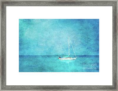 At Anchor Framed Print