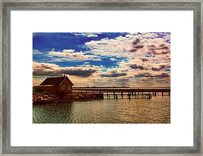 At Bogense Framed Print