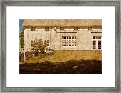 At Boone's Dam Framed Print by Inesa Kayuta