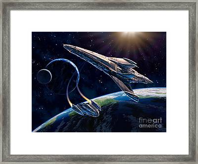 At Corealla Framed Print