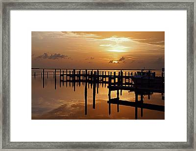 At Day's Close Framed Print