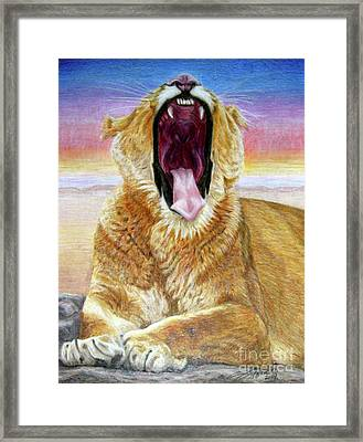 At Days End Framed Print by Beverly Fuqua