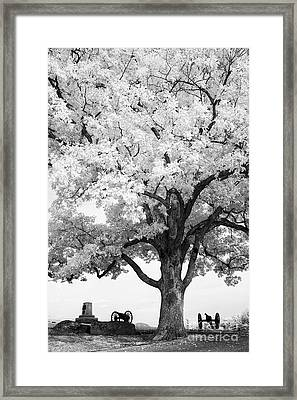 At Devils Den Framed Print